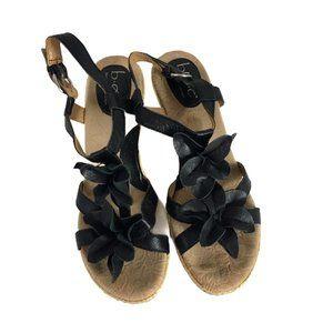 boc Shoes - BOC by Born Concept Womens Wedge Sandals Size 9M